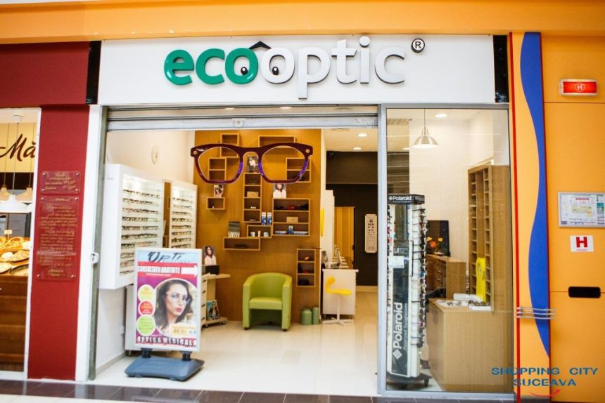 Eco Optic a inaugurat în Shopping City Suceava un nou cabinet de optică medicală!