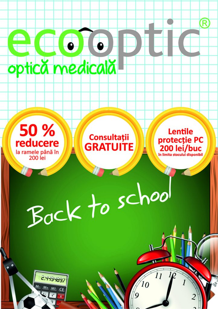 Ecooptic – Oferte de Back to School!