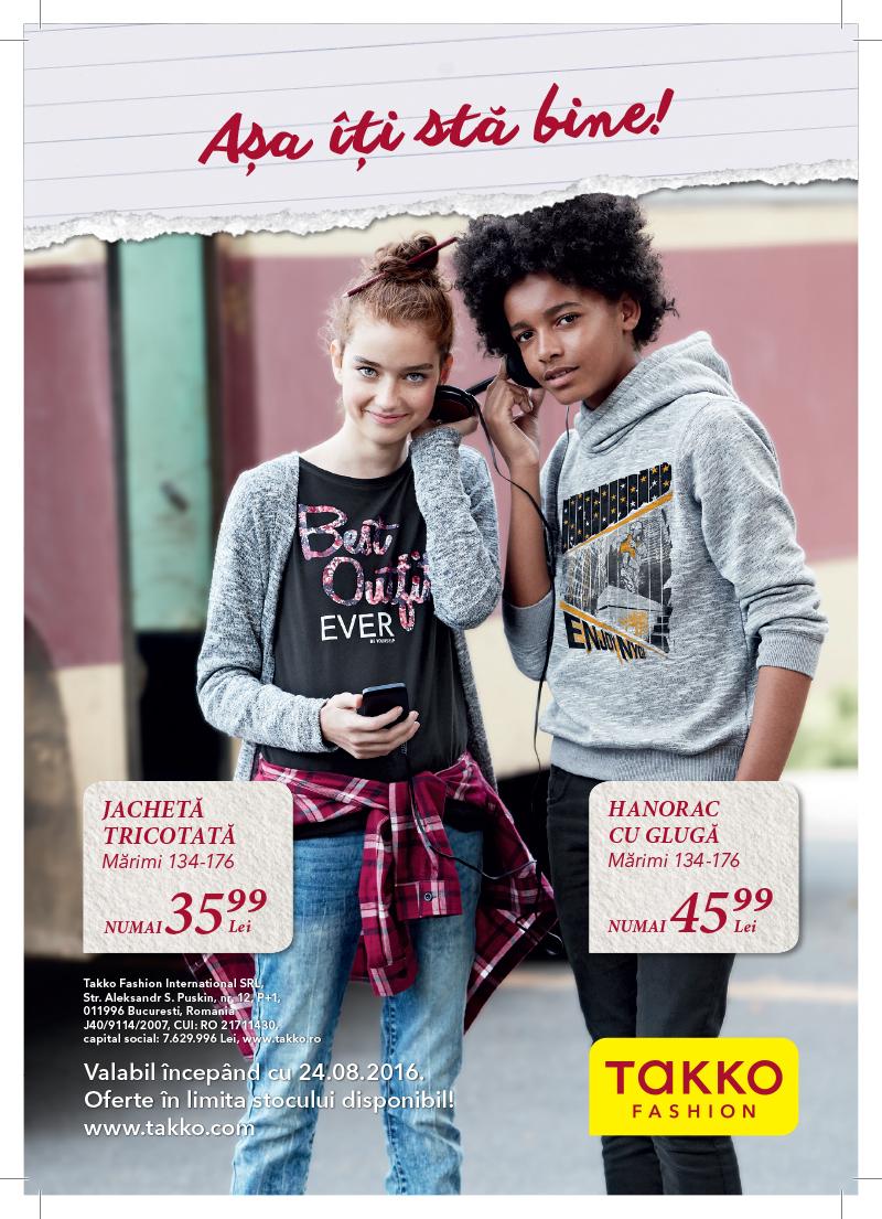 Takko Fashion – Noua colecţie a ajuns în magazin!