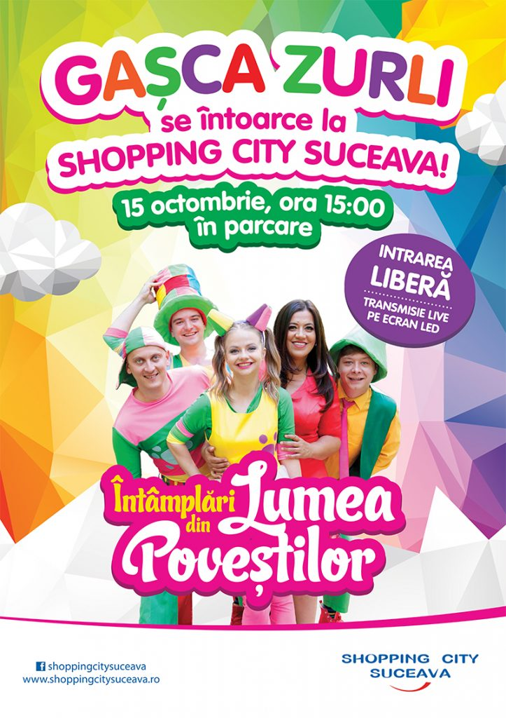 GAȘCA ZULRI revine la Shopping City Suceava!