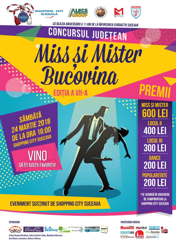Miss și Mister Bucovina – ediția a VII-a