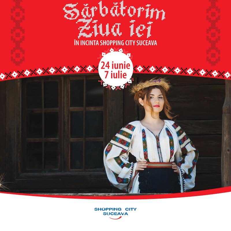 Sărbătorește Ziua Universală a iei, la Shopping City Suceava! 24 Iunie – 07 Iulie