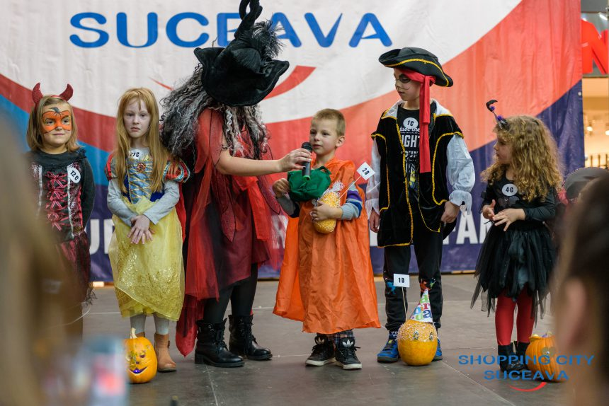 Carnavalul Toamnei la Shopping City Suceava