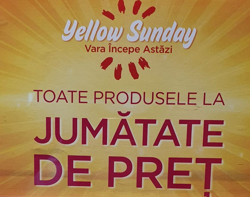 Yellow Sunday la PENTI