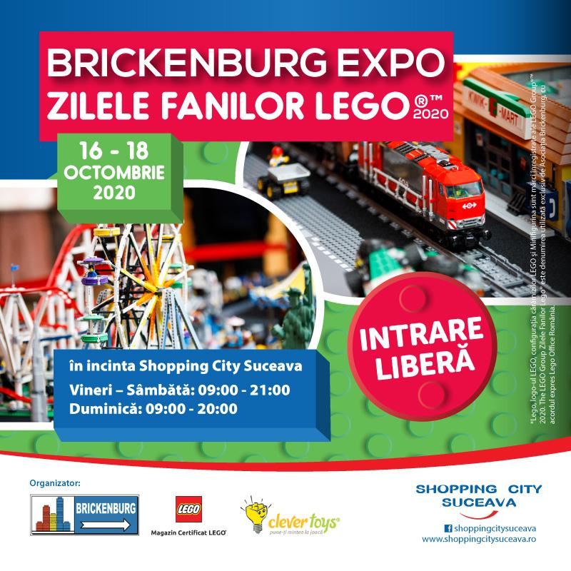 Zilele Fanilor LEGO TM  – Brickenburg Expo